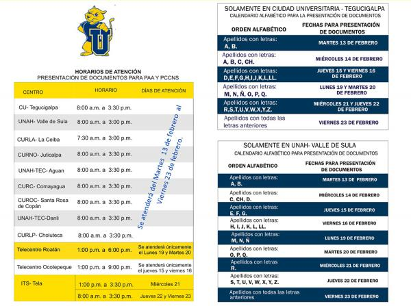 ENTREGA DOCUMENTOS PAA 20182
